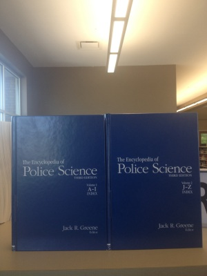 Encyclopedia of Police Science Dothan Alabama Houston County Library System Main Library