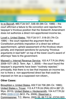 THE TRUTH ABOUT FRIVOLOUS TAX ARGUMENTS - IRS.gov IRS I.R.S. #IRS Internal Revenue Service