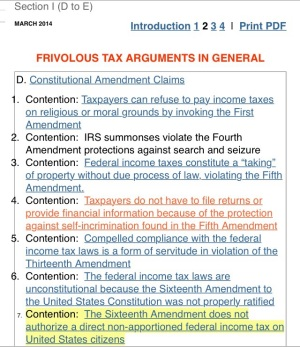THE TRUTH ABOUT FRIVOLOUS TAX ARGUMENTS - IRS.gov IRS I.R.S. #IRS Internal Revenue Service I R S @IRSNews #IRSNews I. R. S.