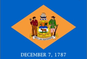 Delaware December 7 1787 Liberty and Independence