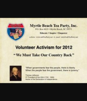 Myrtle Beach Tea Party South Carolina