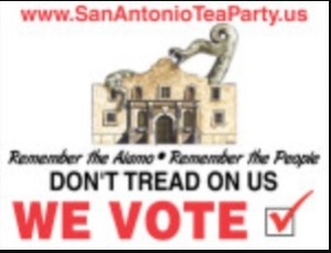 San Antonio Tea Party Texas