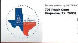 NE Tarrant Tea Party Texas N E Tarrant Tea Party Texas