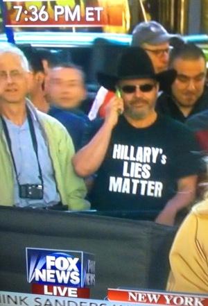 Hillary's Lies Matter