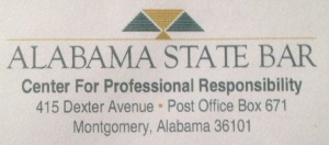 Alabama State Bar Center for Professional Responsibility