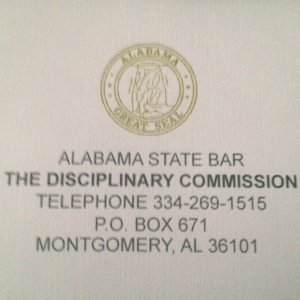 Alabama State Bar The Disciplinary Commission